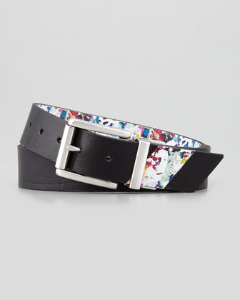 Madrano Reversible Leather Belt