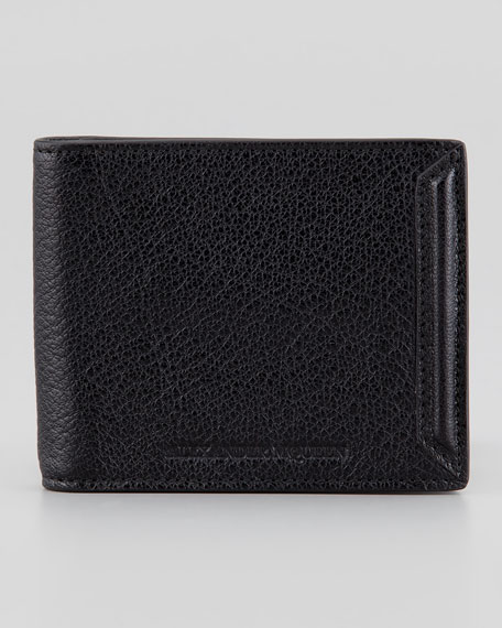 Heroic Men's Money Clip Wallet, Black