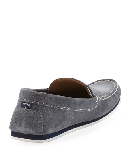 675654267 Lacoste Suede Penny Loafer