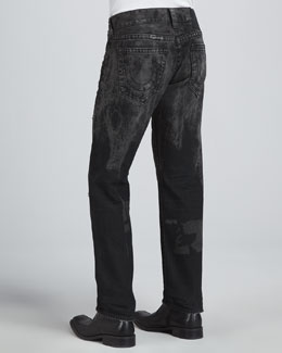 True Religion Geno Revolver Slim-Fit Jeans