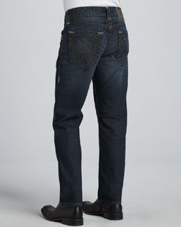 True Religion Geno Slim-Fit Blue Jeans