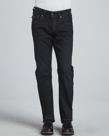 Ricky Straight Black Rider Jeans
