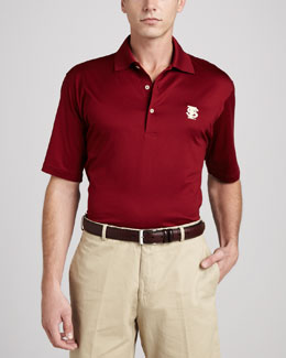 Peter Millar Florida State Gameday Polo College Shirt, Burgundy
