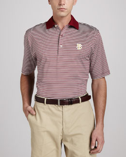 Peter Millar Florida State Gameday College Shirt Polo, Striped