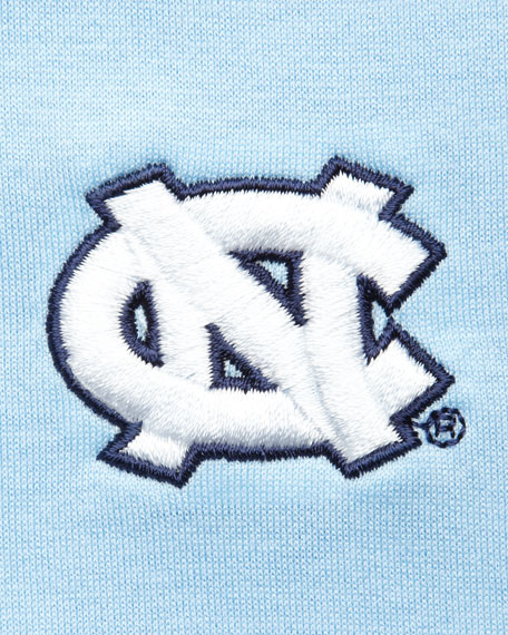 UNC Gameday College Shirt Polo, Light Blue