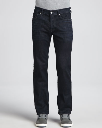 7 For All Mankind Luxe Performance: Standard Midnight Waters Jeans