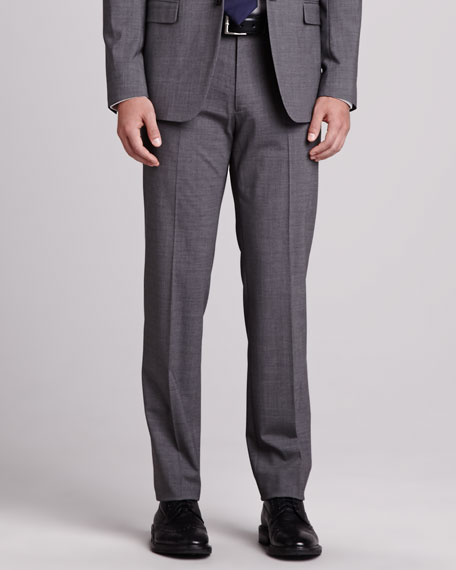 Kody Wool Pants, Charcoal