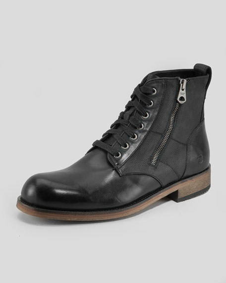 Forest Lace-Up Boot, Black