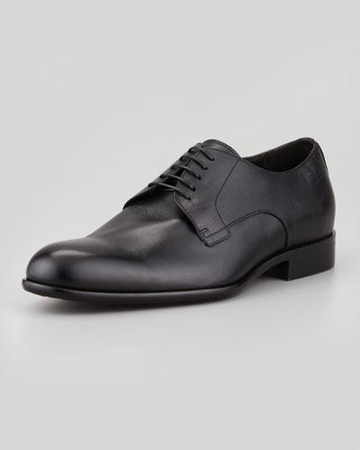Boss Hugo Boss Leather Lace-Up Derby Shoe