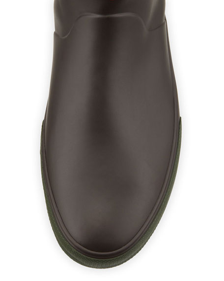 Daleton Short Rubber Boot, Brown