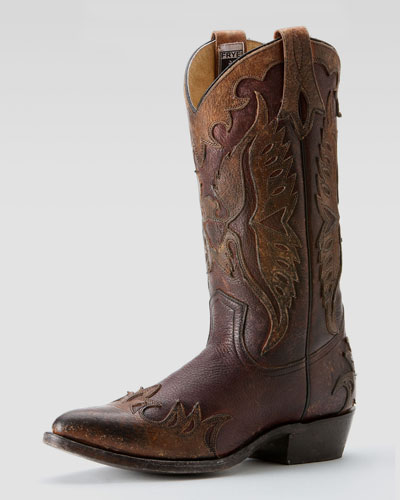 Billy Firebird Boot, Dark Brown