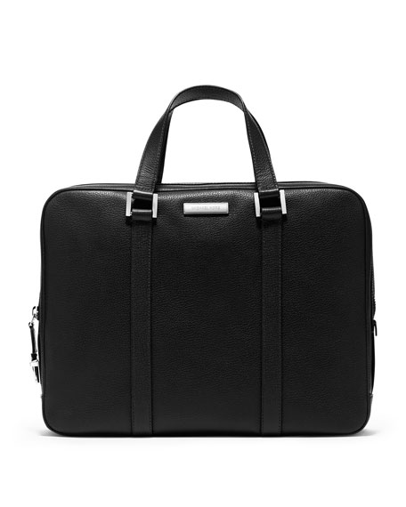 Michael Kors Dunmore Leather Briefcase