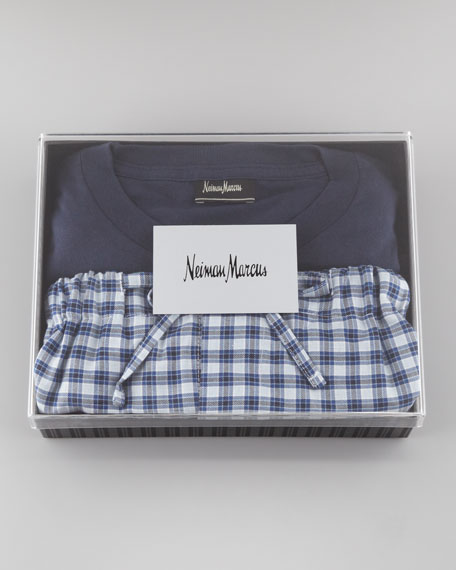 Gift Pajama Set, Blue