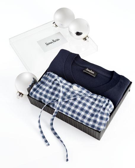 Gift Pajama Set, Blue