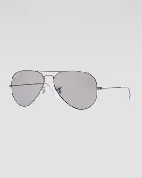 Original Aviator Sunglasses, Gunmetal/Gray