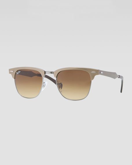65a8cba589 Ray Ban Clubmaster Light Brown « Heritage Malta