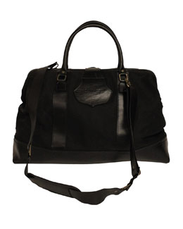 Sandast Stefan Overnight Bag, Black