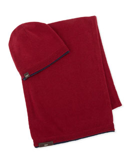 UGG Australia Hat & Scarf Box Set, Red