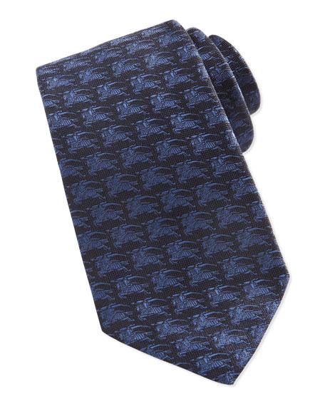 Knight Jacquard Tie, Blue