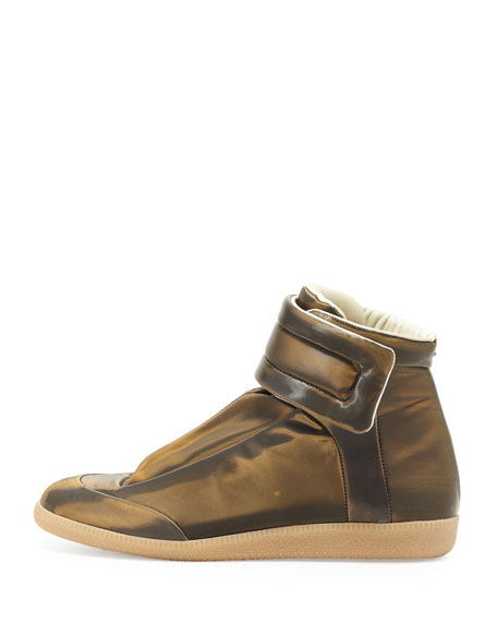 Future High-Top Sneaker, Gold