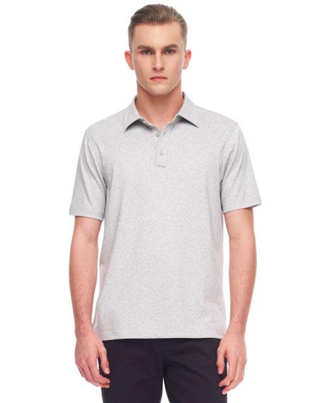 Sleek Cotton Polo