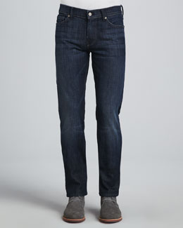 7 For All Mankind Slimmy Slim-Fit Jean, LA Dark