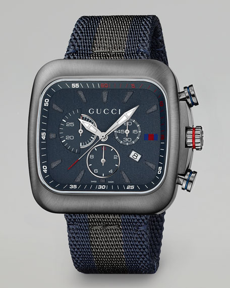 Image 1 of 2: Coupe XL Chronograph Watch, Gray