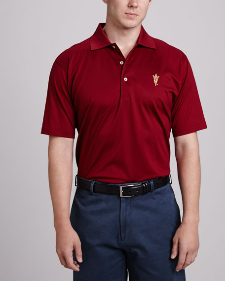 Peter Millar Arizona State Gameday Polo, Maroon