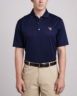 Peter Millar West Virginia Gameday Polo, Blue