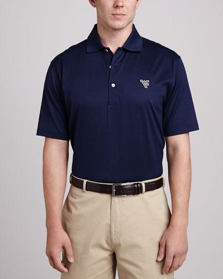 Peter Millar West Virginia Gameday Polo, Blue