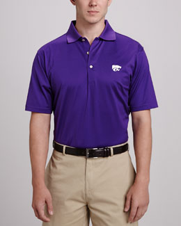 Peter Millar Kansas State Gameday Polo, Purple