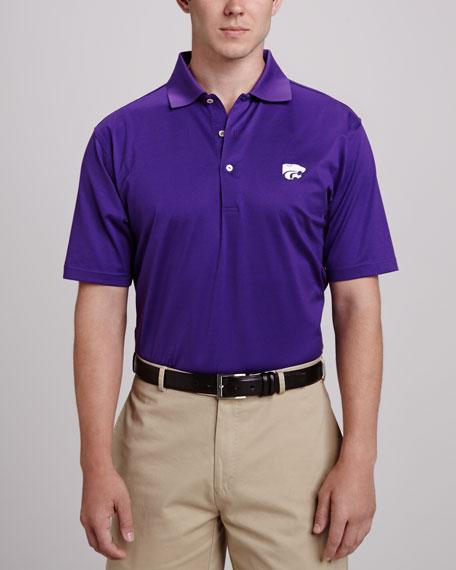 Peter Millar Kansas State Gameday Polo, Purple