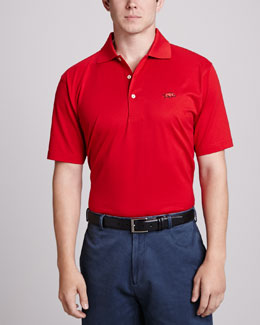 Peter Millar Arkansas Gameday Polo, Maroon