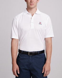 Peter Millar Arizona Gameday Polo, White
