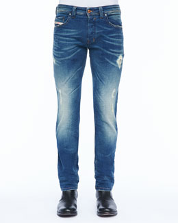 Diesel Safado Five-Pocket Jean, Medium Wash