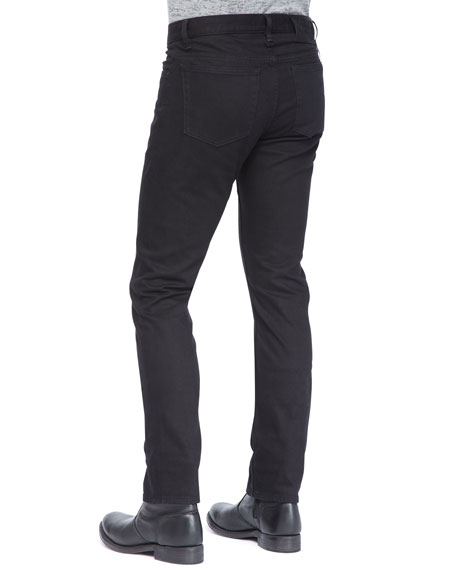 Basic Denim Jeans, Black