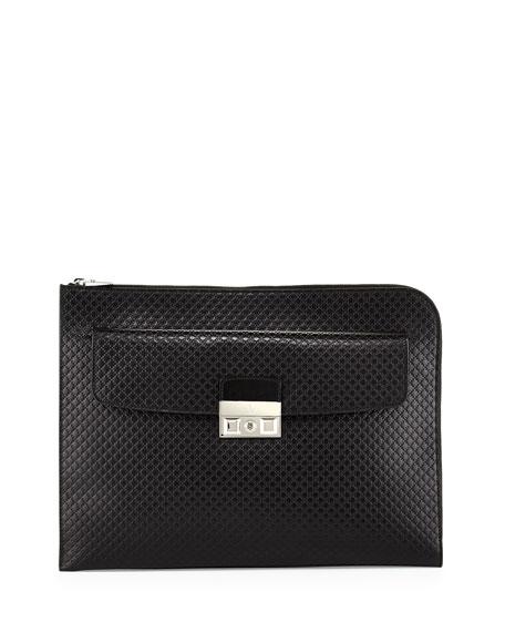 Diamante Portfolio Case, Black