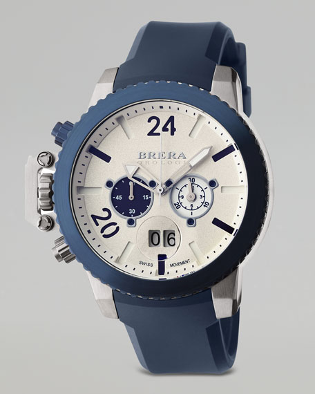 Militare II Chronograph Watch, Blue