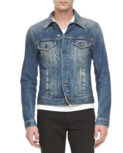 Dolce & Gabbana 4-Pocket Jean Jacket, Blue