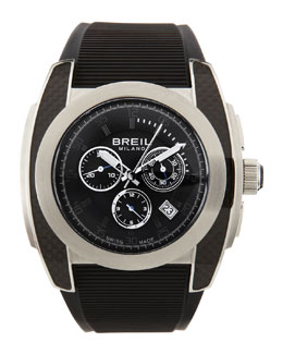 Breil Mediterraneo Chronograph Watch, Black