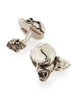 Stephen Webster Men's Vampire Cuff Links