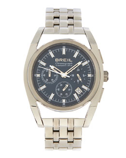 Breil Atmosphere Chronograph Watch, Silver