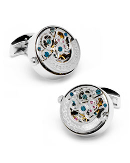 Cufflinks Inc. Kinetic Watch Movement Cuff Links