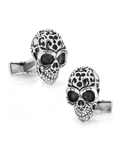 Fatale Skull Cuff Links