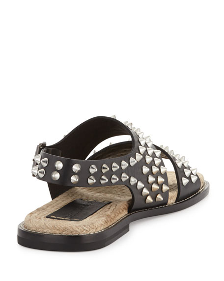 DSQUARED2Studded Sandal