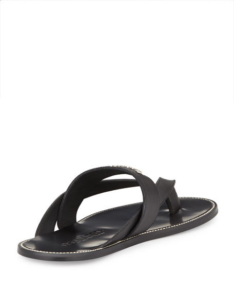 thong sandals - Black Dsquared2