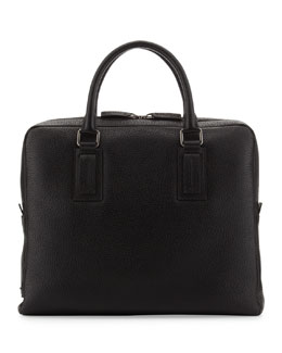 Dolce & Gabbana Leather Computer Case, Black