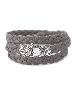 Stephen Webster Rayman Multi-Wrap Men's Bracelet, Gray