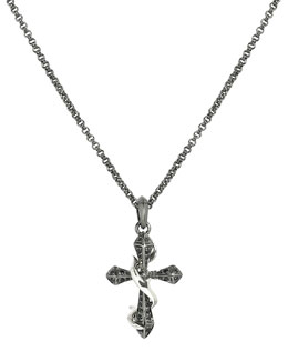 Stephen Webster Thorn Cross Men's Necklace