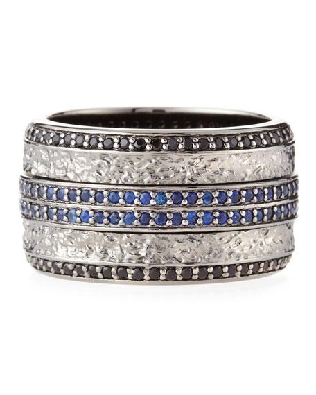 Highwayman Sapphire Spinning Ring